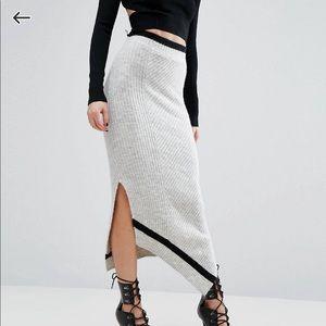 River island studio knitted skirt